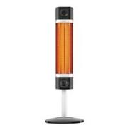 Karbonový infrazářič VEITO - BASIC CH 1800 XE BLACK s teleskopickou nohou