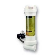 Poloautomatický chemický dávkovač - do potrubí průhledný