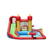 Happy Hop Funland vodní zábavný aqua s bazénem, skluzavkou a míčky