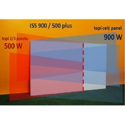 Infratopení infrapanel ISS 600/400 plus