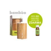 Hanscraft Bamboo ultrasonický aroma difuzér 100 ml+ 100% BIO esenciální vonný olej ZDARMA
