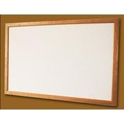 Skleněný topný panel 500 W, rám smrk