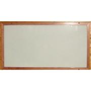 Skleněný topný panel 300 W, rám smrk