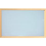 Skleněný topný panel 750 W, rám smrk