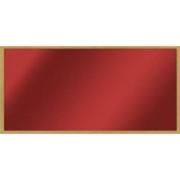 Skleněný topný panel 500 W, rám dub