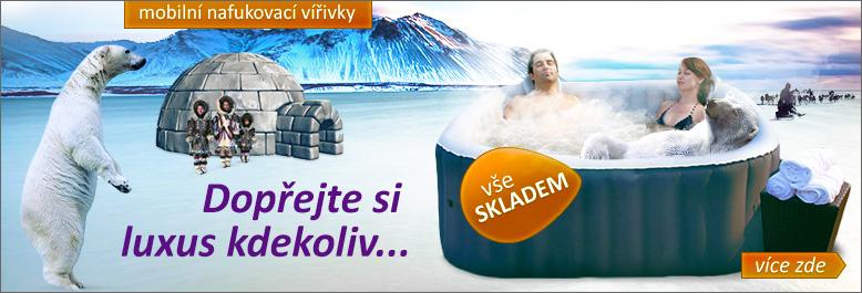 Zahradní eshop.cz - mobilní vířivka